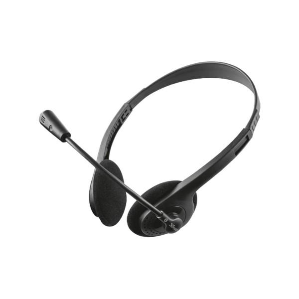 Trust ziva chat headset auricular con micrófono