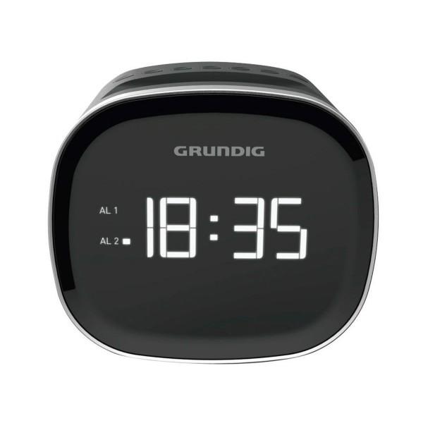 Grundig scc 240 negro radio despertador con radio fm y bluetooth