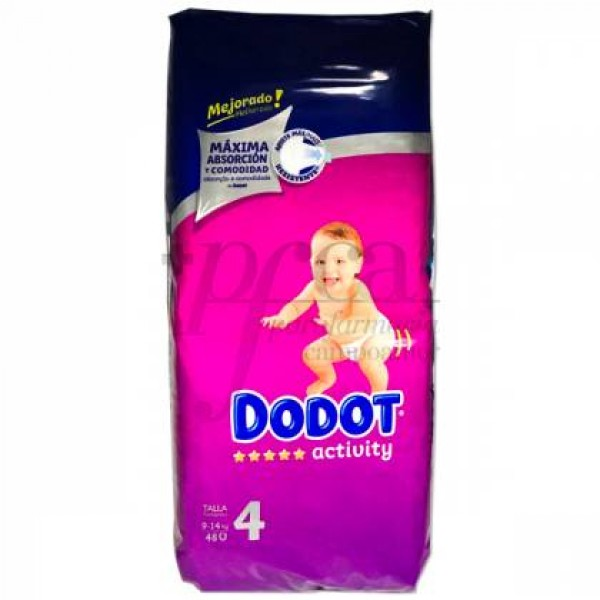 DODOT ACTIVITY T-4 9-14 KG 48 UDS