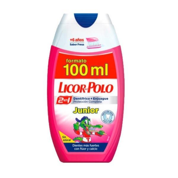 Licor del Polo dentífrico Junior sabor Fresa 100 ml