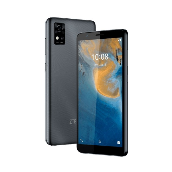 """Zte blade a31 gris/ 8-core /2gb/32gb/5,45"""" hd+/dual sim/android 11 go/8+5 mp/nfc"""